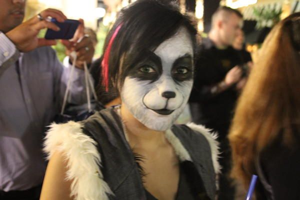 realistic #panda #makeup! Would like a tutorial... :-) : Cute Makeup ...