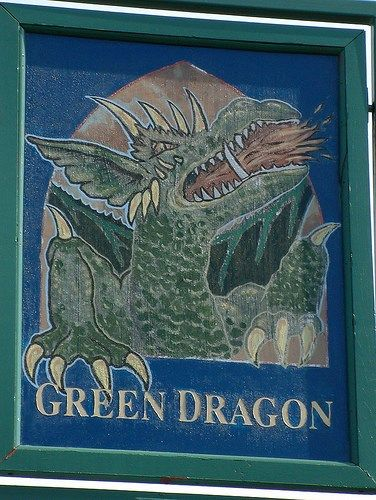 The Green Dragon, Blind Lane, Flackwell Heath, UK ->