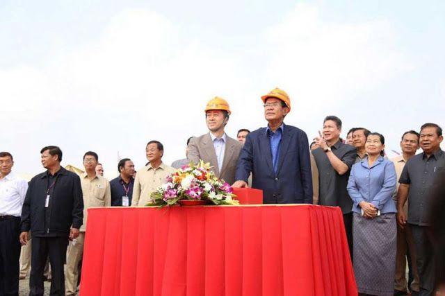 Hun Sen lauds China lashes out at US