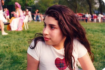 Amy Winehouse in her early teens
