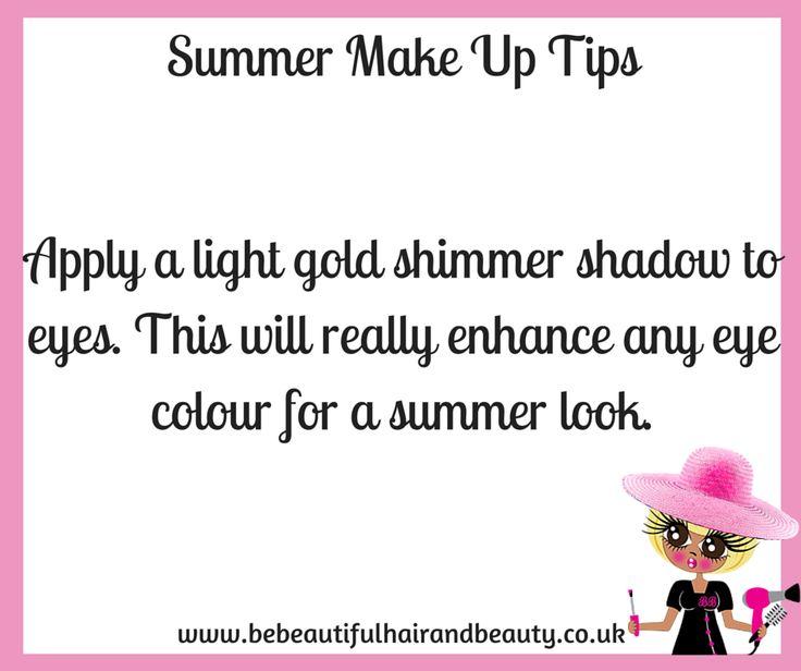 Summer Make-Up Tip #5