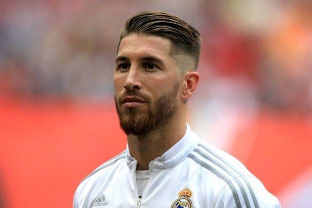 Sergio Ramo S Haircut New Trend Hair Styles Fussballfrisuren Haarschnitt Sergio Ramos