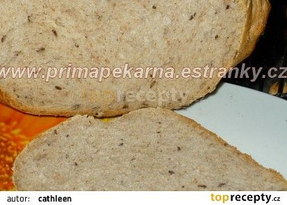 Babiččin voňavý kmínový chléb recept - TopRecepty.cz