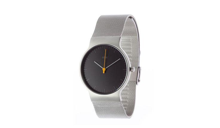 #211 Classic Slim Watch - Blk - by Braun #MONOQI