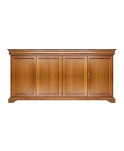 classic sideboard in Louise Philippe style with 4 doors, italian design, wooden sideboard, living room furniture, dining room sideboard