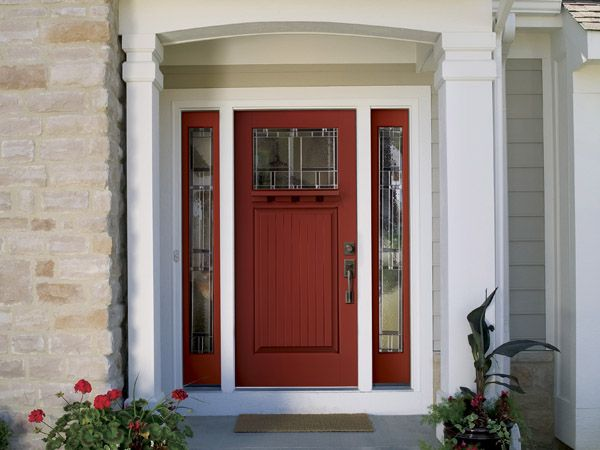 Most Popular Front Door Colors : Most popular front door colors shows a red