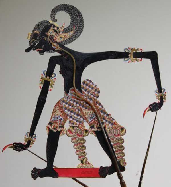 Wayang Purwa Bima puppet