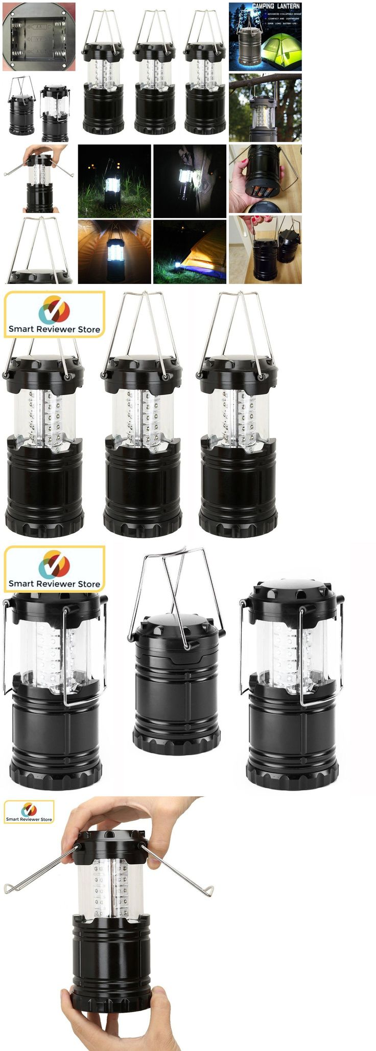 Lanterns 168867: 3 Pack Portable Collapsible Led Lanterns Tac Light Emergency Lamps Camping Light -> BUY IT NOW ONLY: $45.68 on eBay!