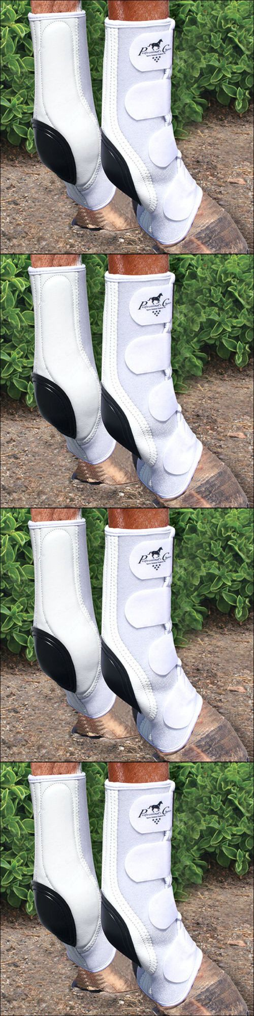Horse Boots 85260: Professional Choice Tack Standard Ventech Slide Tec Skid Horse Leg Boots White BUY IT NOW ONLY: $84.95