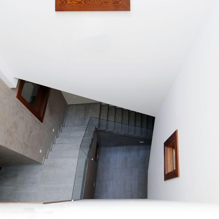 Cal Muns. Calaf. Barcelona. 2015. Private house refurbishment. Stairs.