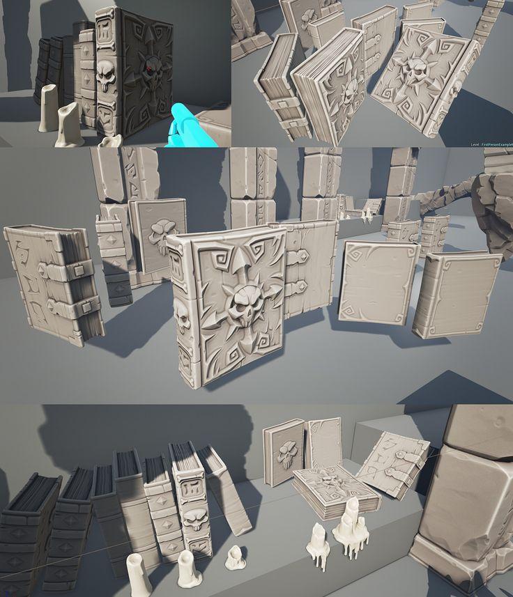 ArtStation - Throne challenge - polycount , Michael vicente - Orb