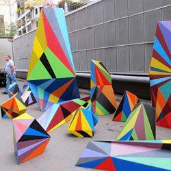Graphic artist/street art. Matt W. Moore
