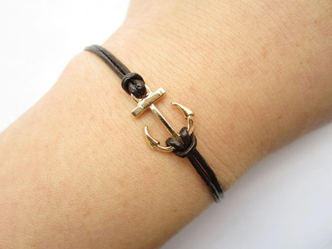 15 Super Rad Bracelets for Under 5 Bucks!Bracelets Ideas, Braceletretro Golden, Arrows, My Daughters, Bracelets Leather, Anchors Braceletretro, Anchors Bracelets Retro, Anchor Bracelets, My Style