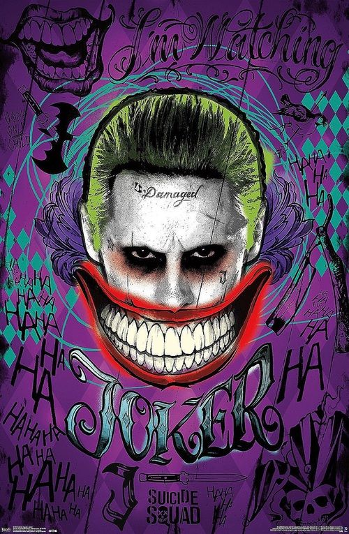 Imagem de joker, suicide squad, and harley quinn