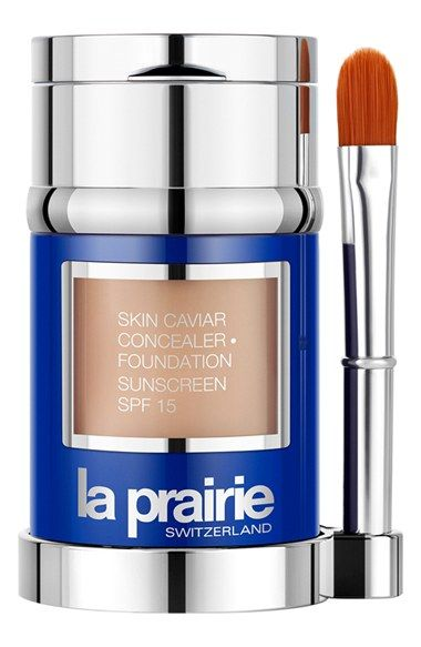 La Prairie 'Skin Caviar' Concealer · Foundation Sunscreen SPF 15 available at #Nordstrom