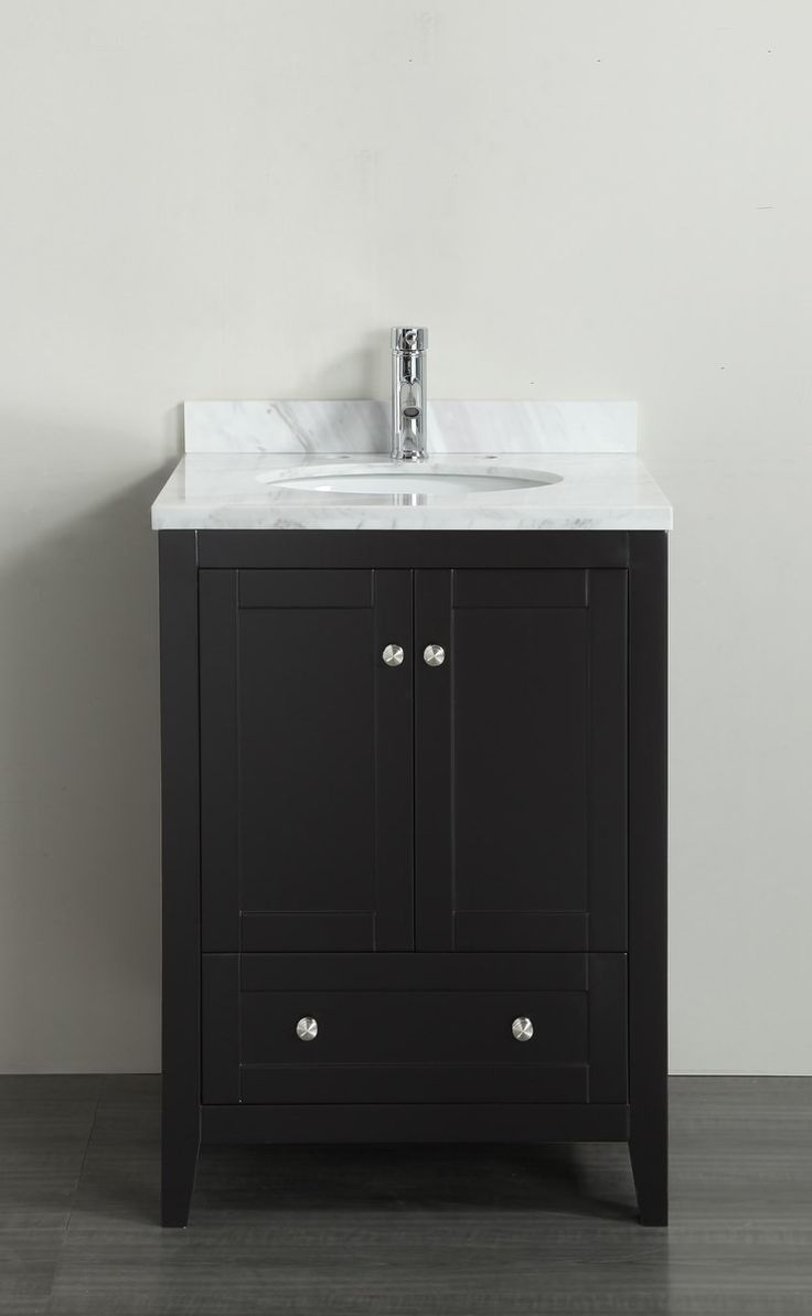 """Eviva Lime® 24"""" Bathroom Vanity Espresso"""