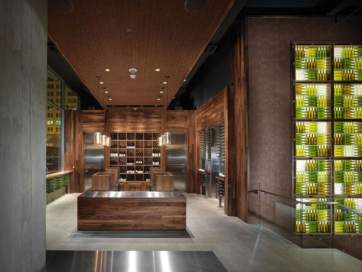 The Press Club, a Wine Bar with Contemporary Interior Design, by BCV Architects