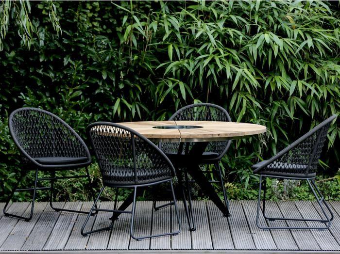 Niehoff Gartenmobel Sitzgruppe Kuta Nexor 1 Gartentisch Teak Teak Holz