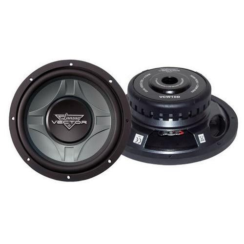 Vector 10'' Dual 4 Ohm Shallow Subwoofer