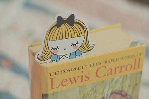 Alice: Marker, Caramel Candy, Kids Books, Alice In Wonderland, Cute Bookmarks, Books Mark, Alice Bookmarks, Diy, Lewis Carroll