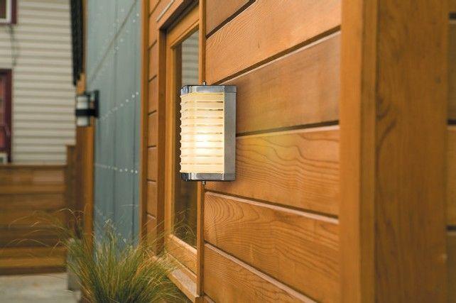 10-Harmonious-Contemporary-Outdoor-Lighting-Ideas-wall | See more Contemporary Lighting Ideas at: http://contemporarylighting.eu #ContemporaryOutdoorLighting