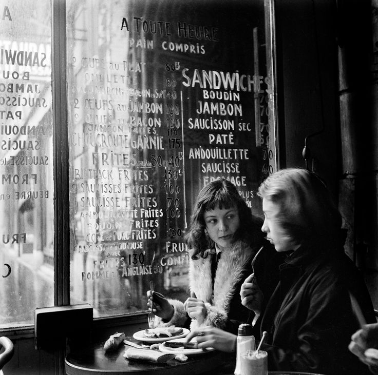 Love on the Left Bank, Paris, 1956, Ed van der Elsken