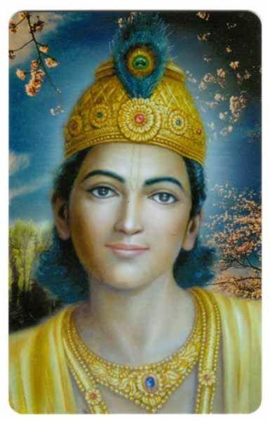 Bhagavan Krishna Wallet Card