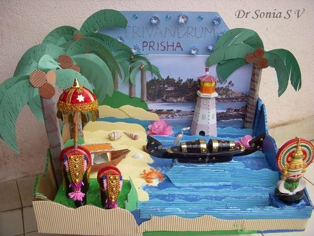Make a pizza box or shoe box diorama for diwali … creative ...