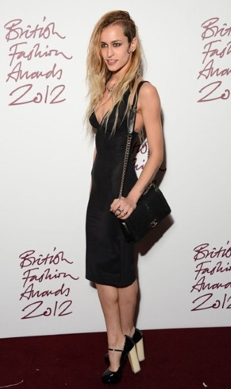 British Fashion Awards 2012: Stylish guests on the red carpet