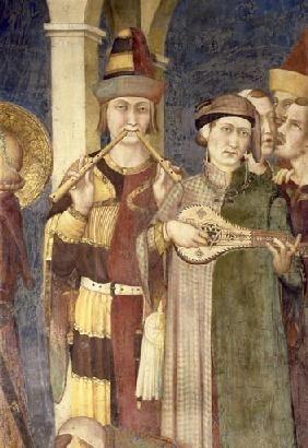 Martini Simone - Die Investitur des hl. Martin von Tours zum Ritter