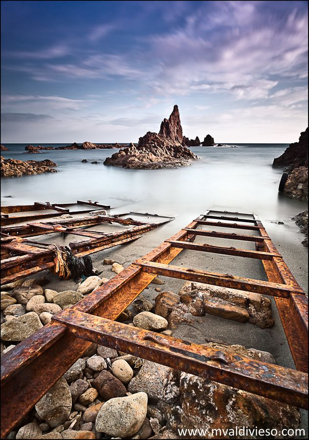 arrecife de las sirenas  Cabo de Gata / Almeria / Spain  Landscape workshops in Madrid and northern Spain mailto:Miguel@notodofoto.com