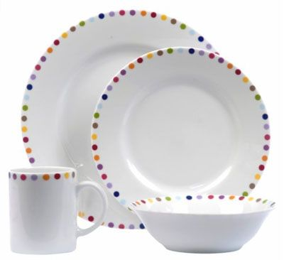 Dotted dishes