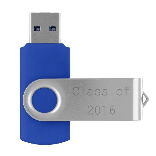 Class of 2016, Graduation Teacher Reunion USB Swivel USB 2.0 Flash Drive