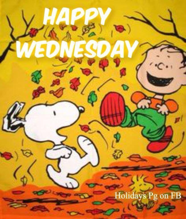 Happy Wednesday Snoopy