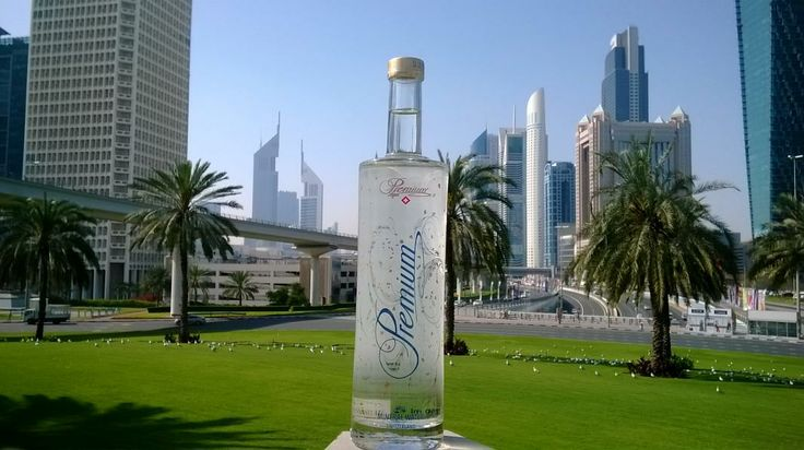 Pure mineral water for people who enjoy! Aqua Premium in Dubai 2014.