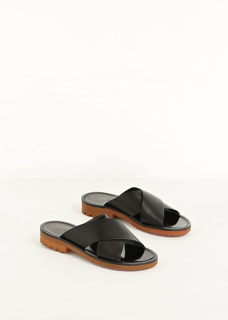 Robert Clergerie Bart Sandal (Black)