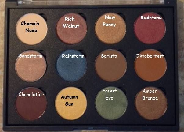 Master palette by mario dupes from coastal scents.