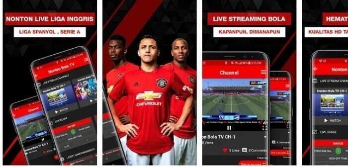 Aplikasi Streaming Bola Liga Inggris Inggris Spanyol