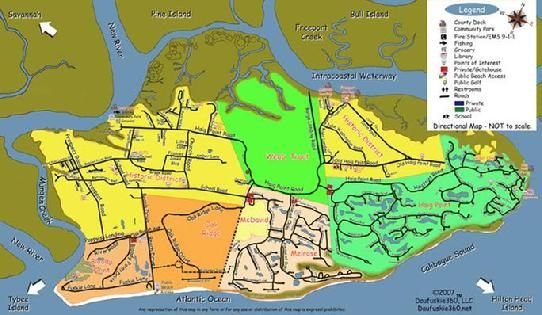 Freeport Island Map