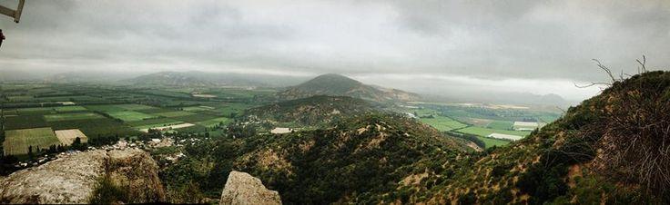 Sector de La Laguna, desde el Cerro La Muralla