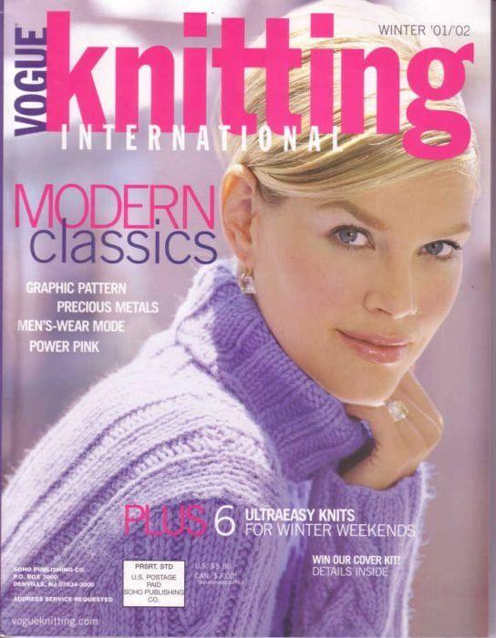 2001/2002 Winter | Vogue Knitting