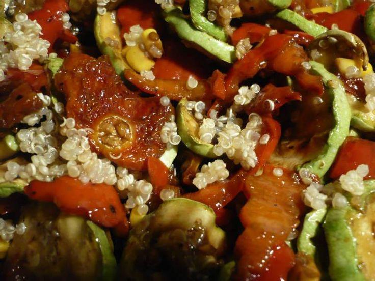 Sebzeli Kinoa Salatası                        -  Sibel Göktürk #yemekmutfak