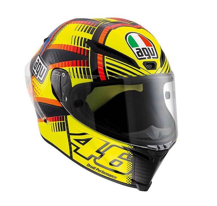 AGV Pista GP Rossi Soleluna Qatar 2015 Helmet