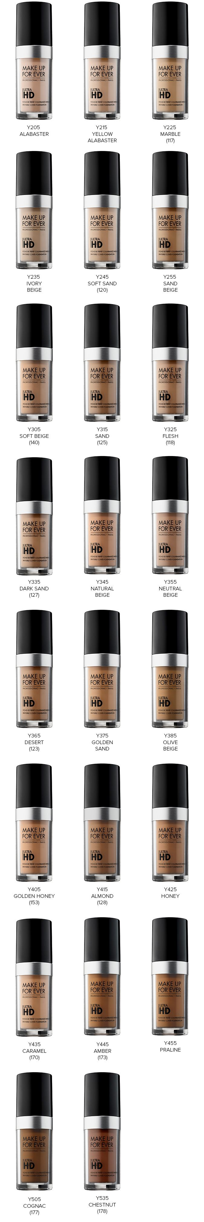 Make Up For Ever Ultra HD Foundation launching soon in 40 shades