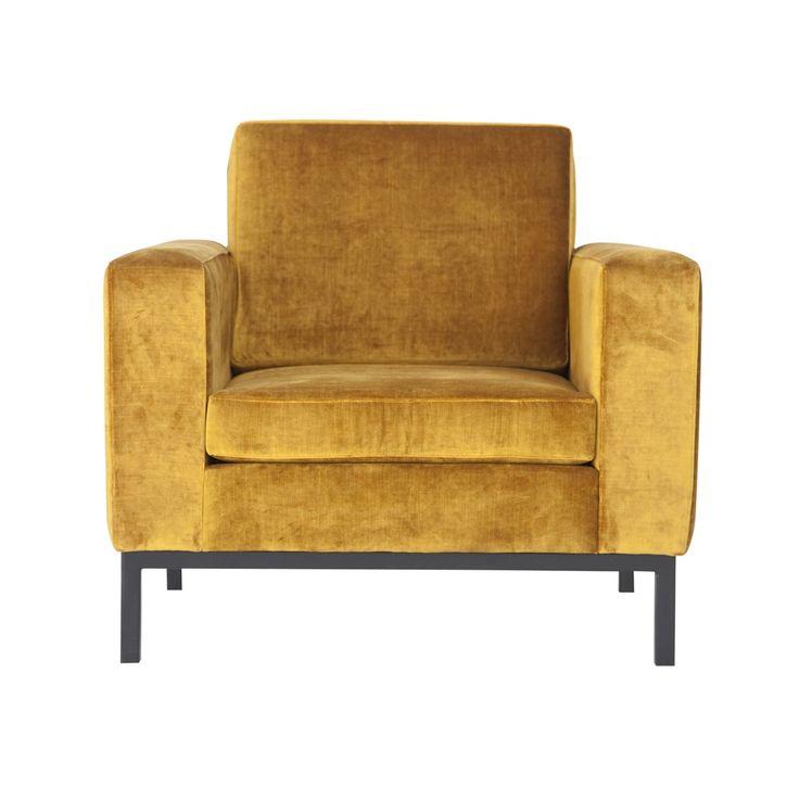 Les 25 meilleures id es de la cat gorie fauteuil jaune - Fauteuil crapaud jaune ...
