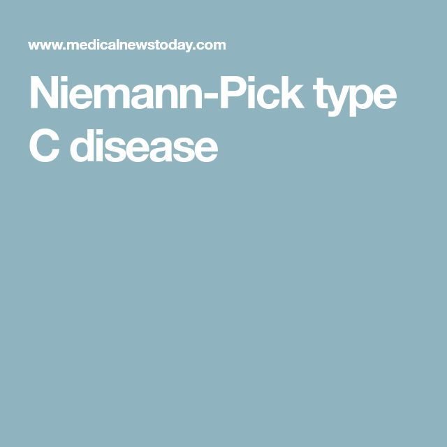 Niemann-Pick type C disease