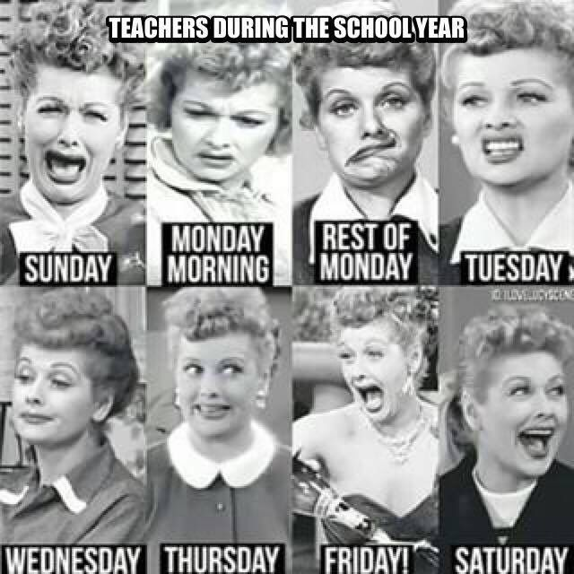 Lucy gets it! #teacherproblems #backtoschool