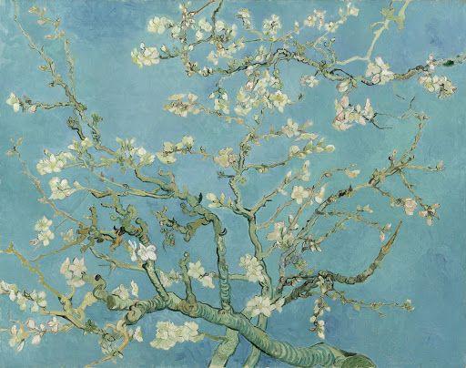 Almond Blossom Saint-Rémy-de-Provence, February 1890 Vincent van Gogh (1853 - 1890) oil on canvas, 73.3 cm x 92.4 cm Van Gogh Museum, Amsterdam (Vincent van Gogh Foundation)  http://www.vangoghmuseum.nl/en/collection/s0176V1962