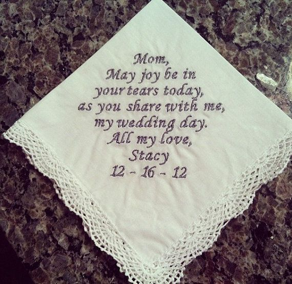 Mother of the Bride Personalized Wedding by EmbroiderybyMelissa, $22.00