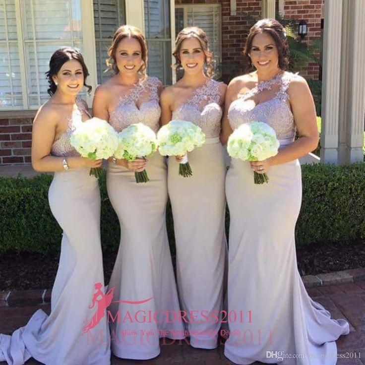 Wholesale 2016 New Bride Evening Dress Vintage Shoulder: 1000+ Ideas About Lavender Bridesmaid Dresses On Pinterest